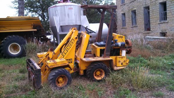 Swinger loader 160 b EPSILON harvester crane MH, PALFINGER